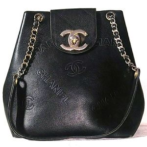 '70s-'80s VINTAGE CHANEL Caviar Leather Tote